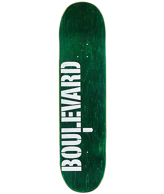 "BLVD Lemos Squadron 8.0"" Skateboard Deck"