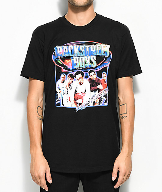 Backstreet Boys Larger Than Life Black T Shirt Zumiez