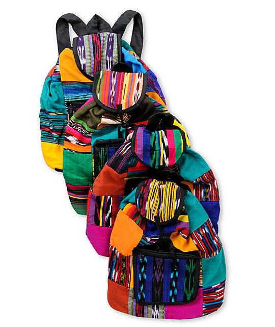 Baja Bags Patchwork Backpack