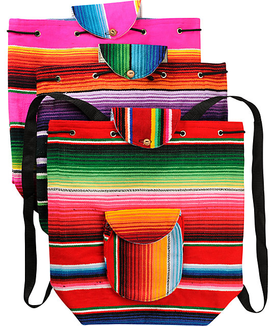 Baja Bags Serape Backpack