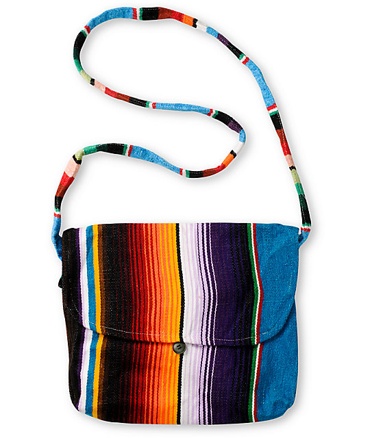 Baja Bags Serape Messenger Bag