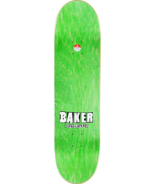 "Baker Reynolds Wood Grain 8.25""  Skateboard Deck"