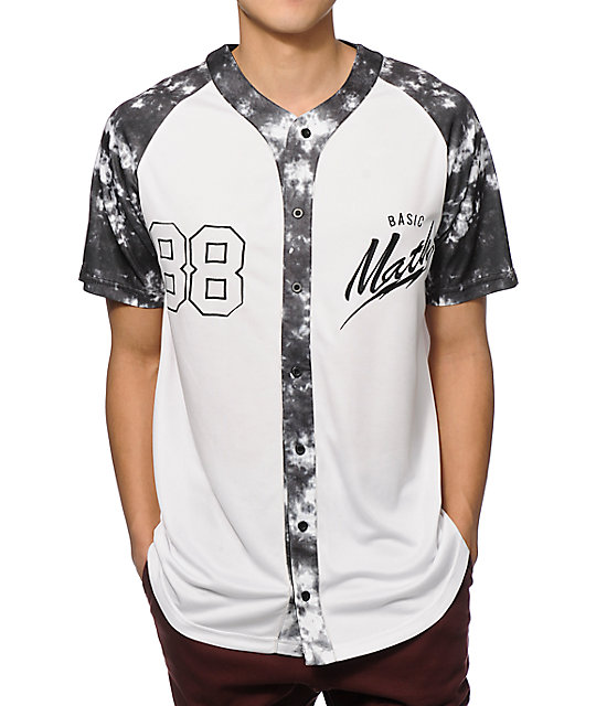 basic math 88 baseball jersey