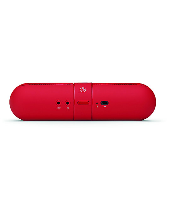 Beats By Dre Beats Pill Red Wireless Speakers