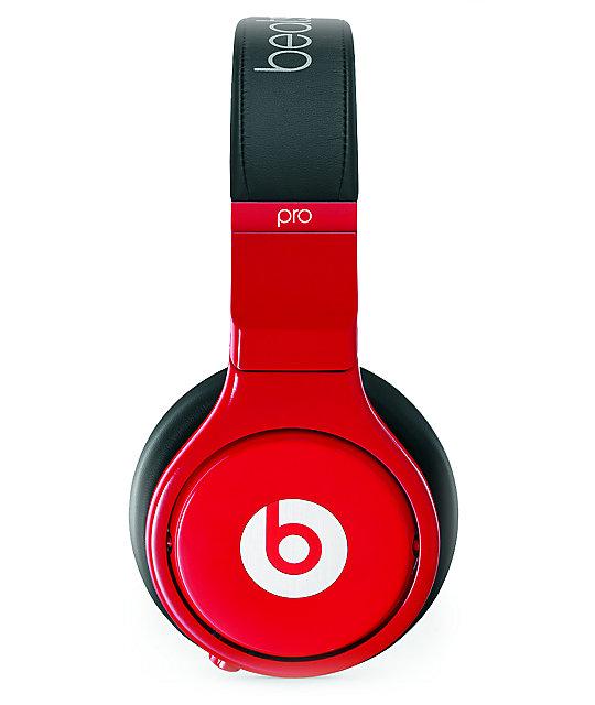 Beats By Dre Beats Pro Lil Wayne Red Black Ltd Headphones Zumiez