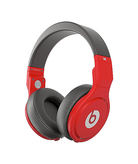 Beats By Dre Beats Pro Lil Wayne Red & Limited Edition Headphones