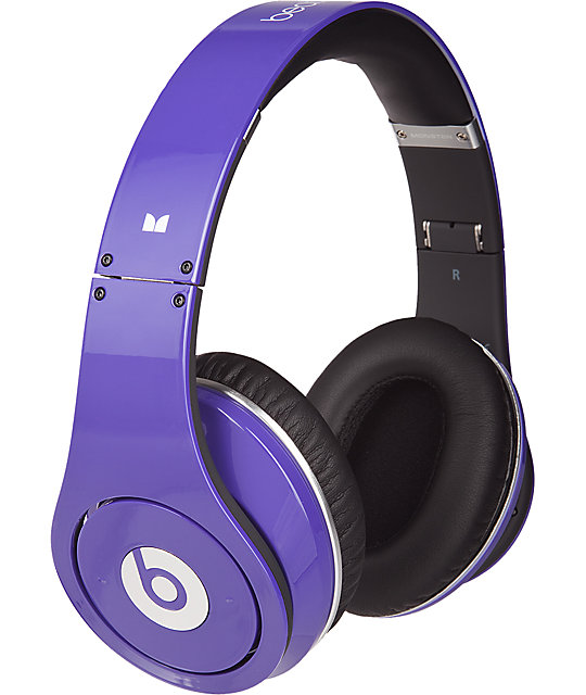 Beats By Dre Limited Edition Studio Purple Headphones
