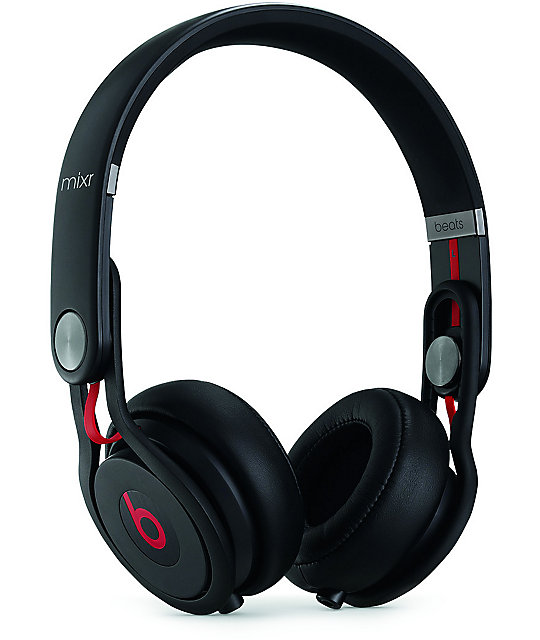 Beats By Dre Mixr Black Headphones