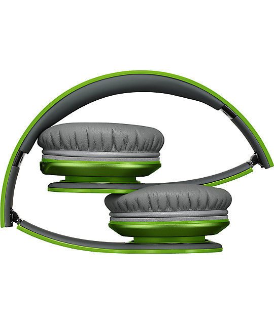Beats By Dre Solo HD Green Headphones