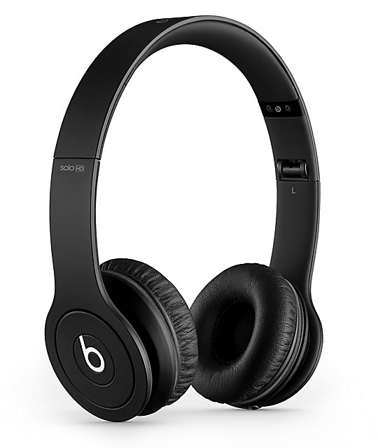 Beats By Dre Solo HD Monochrome Black Headphones
