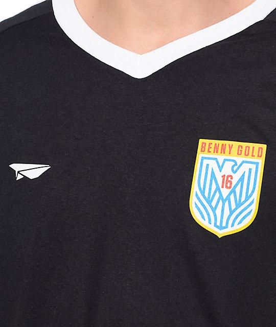 f0b3375e453 Benny Gold Eagle Black Soccer Jersey T-Shirt | Zumiez