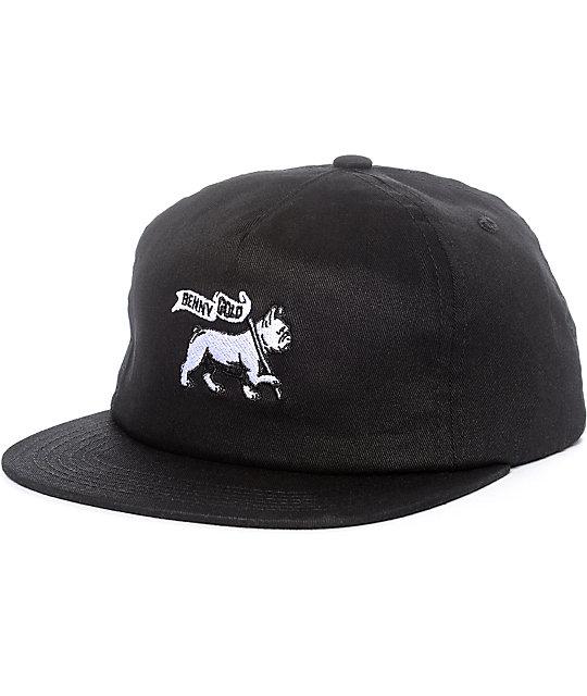 Benny Gold Lion Of Judah Black Snapback Hat  7c719f31e73