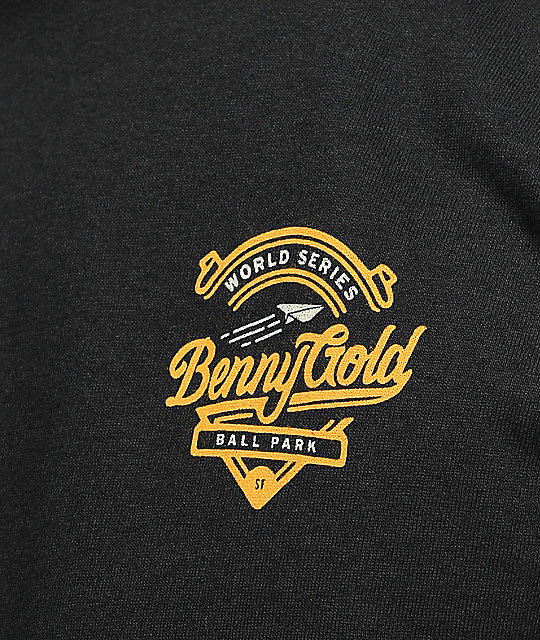 Benny Gold Stadium Black T-Shirt