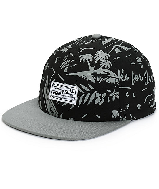 Benny Gold Tropics Polo Strapback Hat  94a221018f6