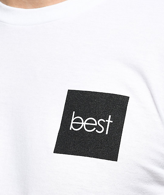 Best Skate Co No Place For White T-Shirt