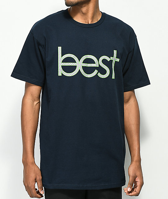 Best Skate Co. Home Team camiseta en azul marino