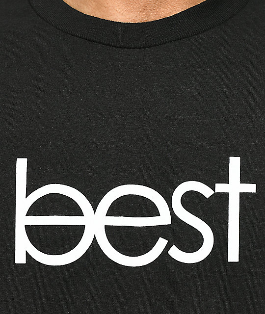Best Skate Co. OG Logo camiseta negra