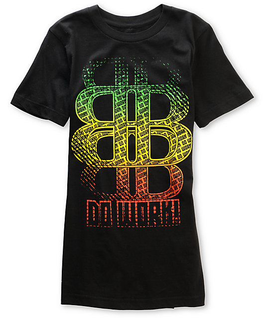 Big Black Kingston Rasta T-Shirt