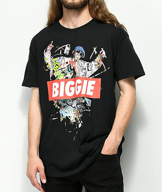 Biggie Hands Up camiseta negra
