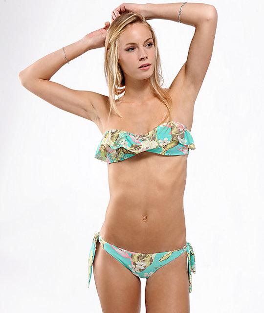 3924190d11 Billabong Aloha Yo Flounce Bikini Top | Zumiez