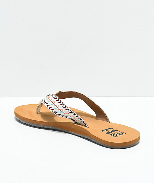 Billabong Baja White Sandals