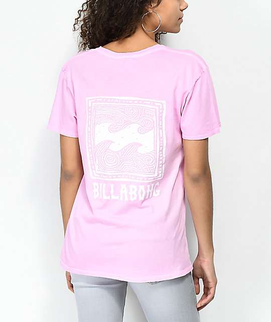 Billabong Beach Daze New Wave Pink T-Shirt