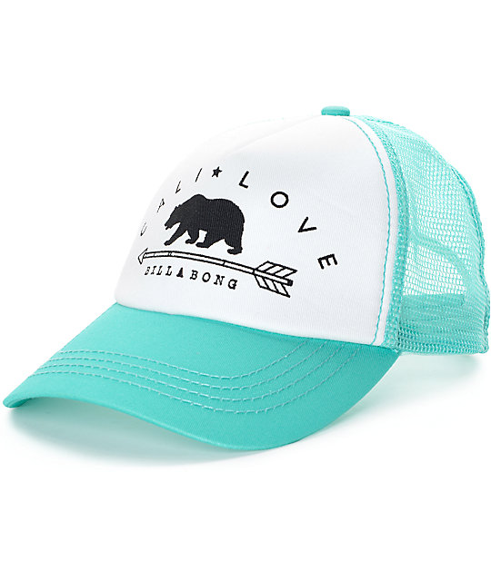 Billabong Cali Love Honey Do Trucker Hat  158fac2d59a