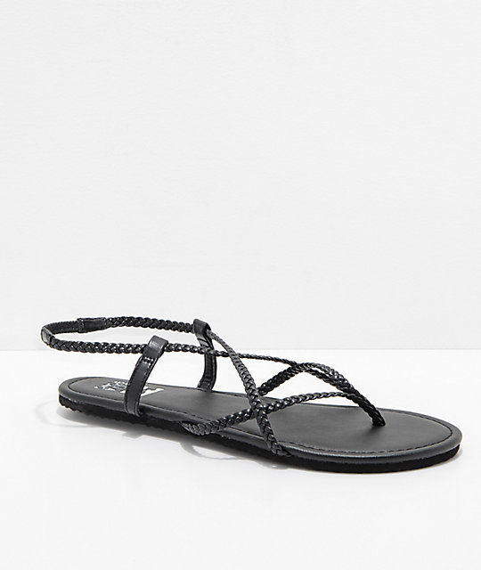 Billabong Crossing Over 2 Black Sandals
