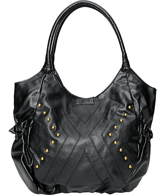 Billabong Get Going Black Tote Bag