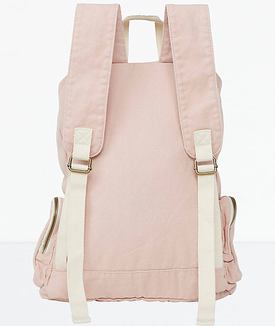 Billabong Heart At Home Light Pink Backpack