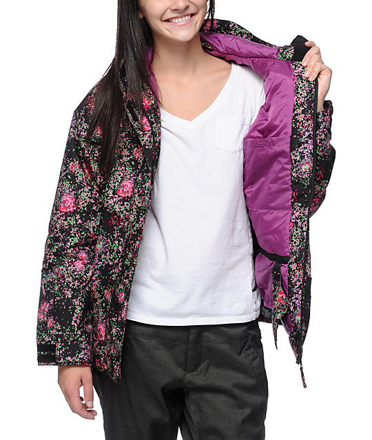 Billabong Jelly Pixel Rose 8K Snowboard Jacket