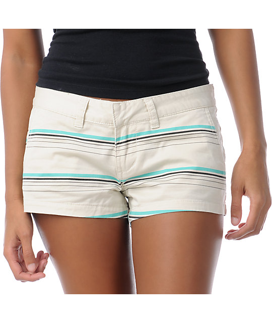 Billabong Keep On Khaki Stripe Canvas 2.5 Shorts