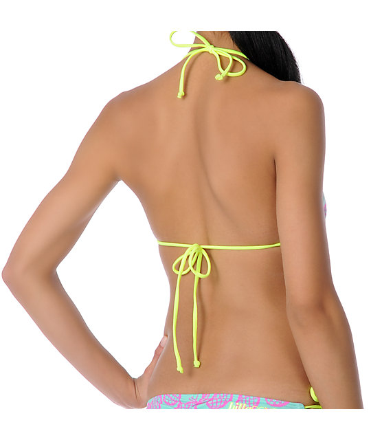 Billabong Kerry Pina Colada Triangle Bikini Top
