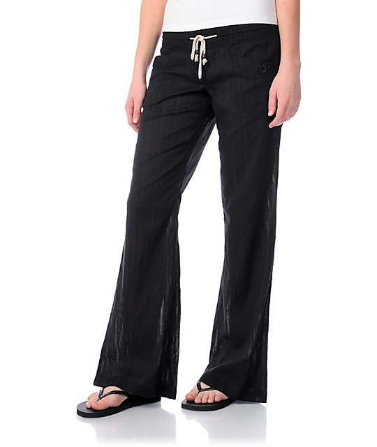 Billabong Laying Low Black Beach Pants