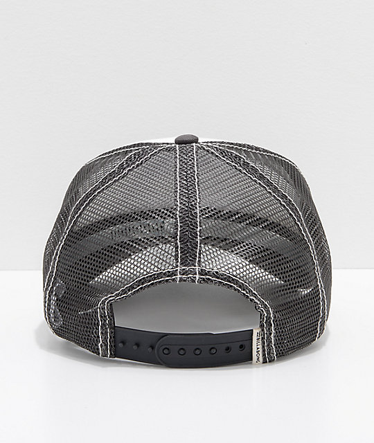 Billabong Pitstop Cali Love Black & White Snapback Hat