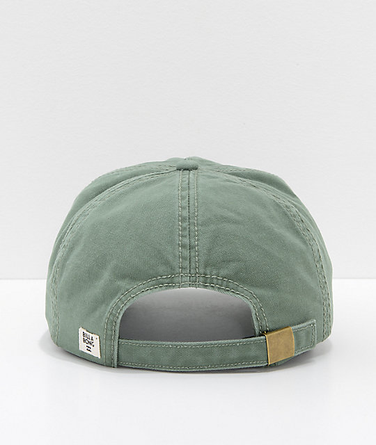 Billabong Pitstop Cali Love Green Strapback Hat