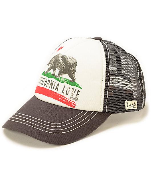 abbf657cd Billabong Pitstop Cali Love Trucker Hat