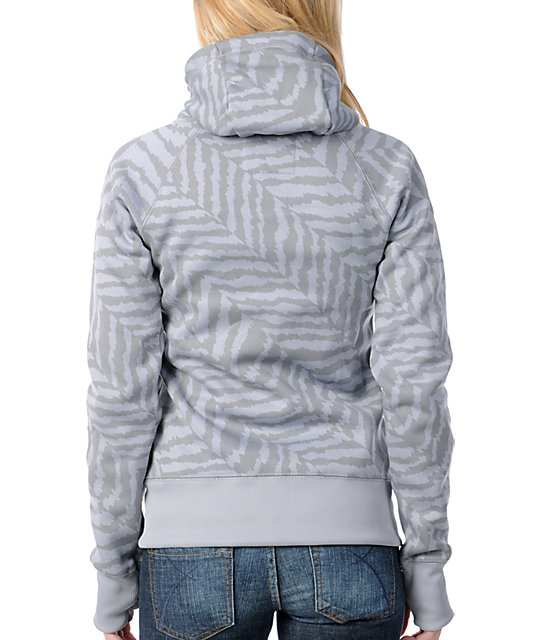 Billabong Ramble On Grey Tech Fleece Jacket