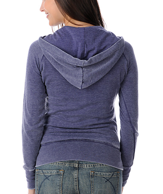 Billabong Softly Spoken Blue Pullover Hoodie