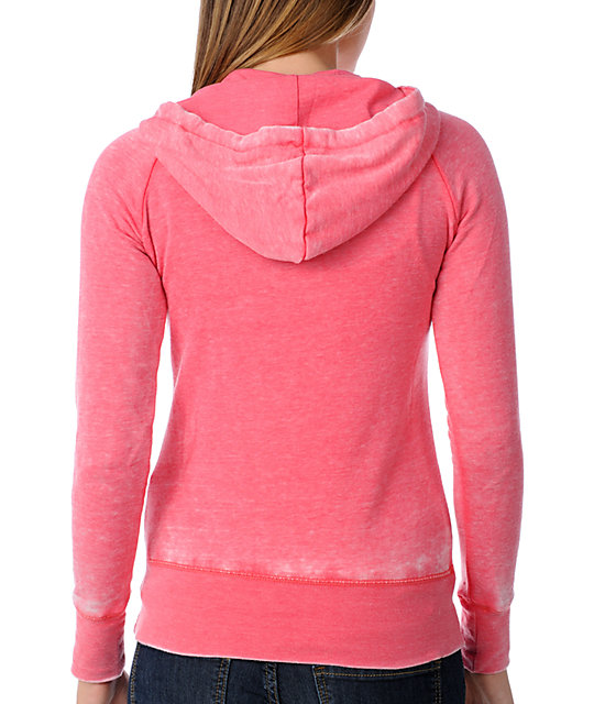 Billabong Softly Spoken Orange Hoodie