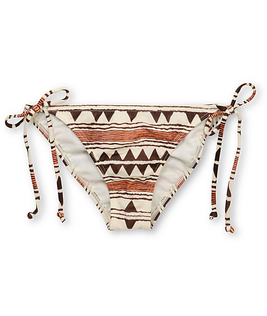 Billabong Tribal Town Kellie Tie Side Bikini Bottom