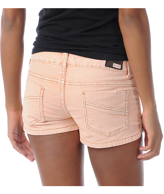 Billabong Walk On Coral Corduroy Shorts