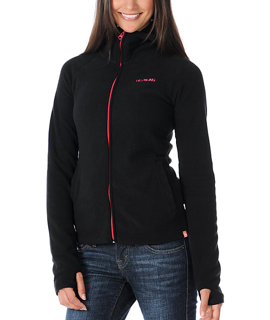 Billabong Whistler Black Polar Tech Fleece Jacket