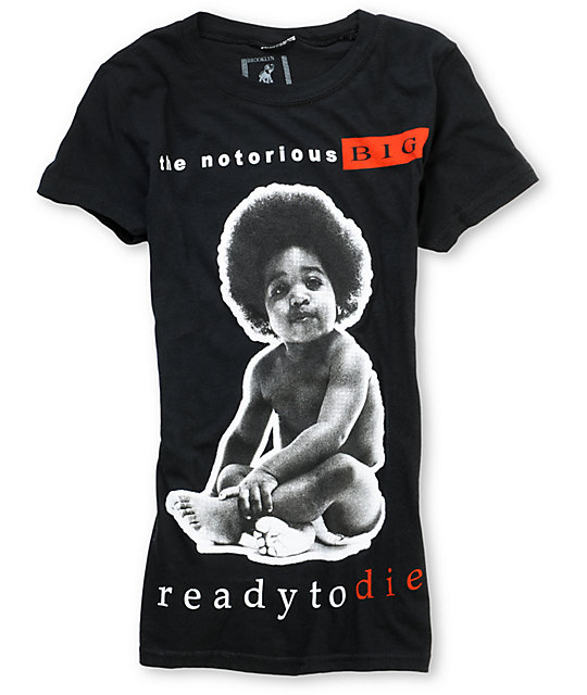 Bioworld Notorious Big Ready Black T-Shirt