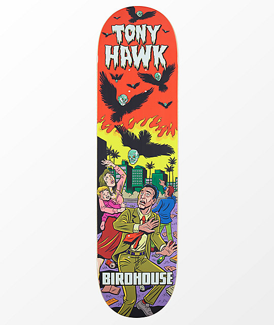 "Birdhouse Hawk Mexipulp 8.1"" Skateboard Deck"