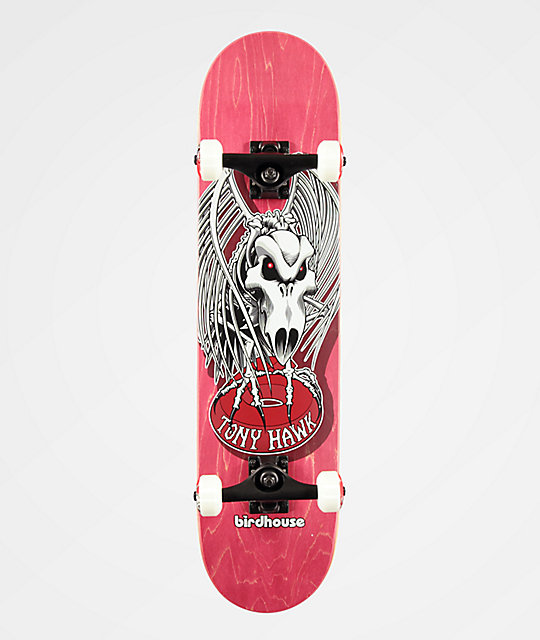 Birdhouse Tony Hawk Falcon 4 Red 7.5
