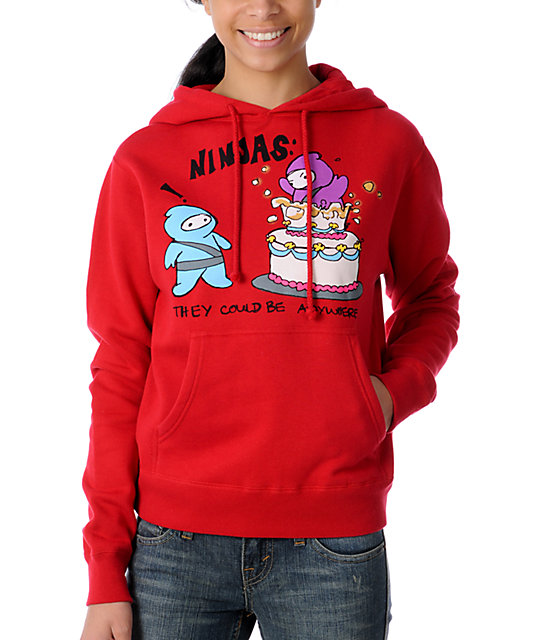Bitter Sweet Cake Topper Red Scratch N Sniff Hoodie