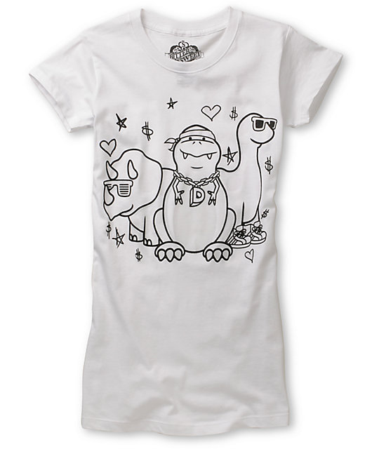 Bitter Sweet Dino Crew UV Ink T-Shirt
