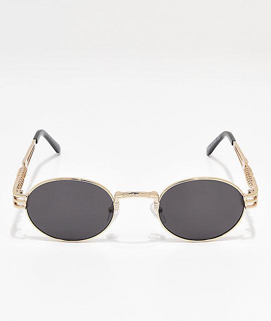 293ed9f959 ... Black   Silver Round Sunglasses
