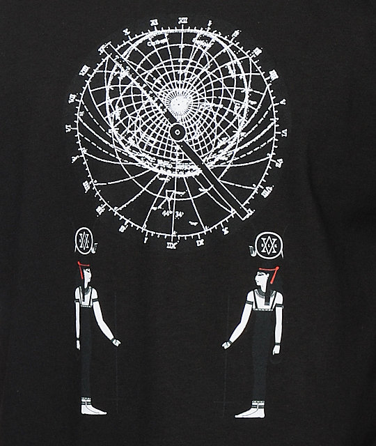 Black Scale Astrolabe T-Shirt